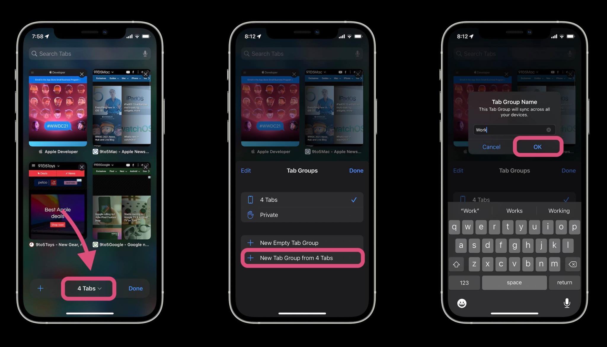 В Сети показали, как работает новый Safari в iOS 15