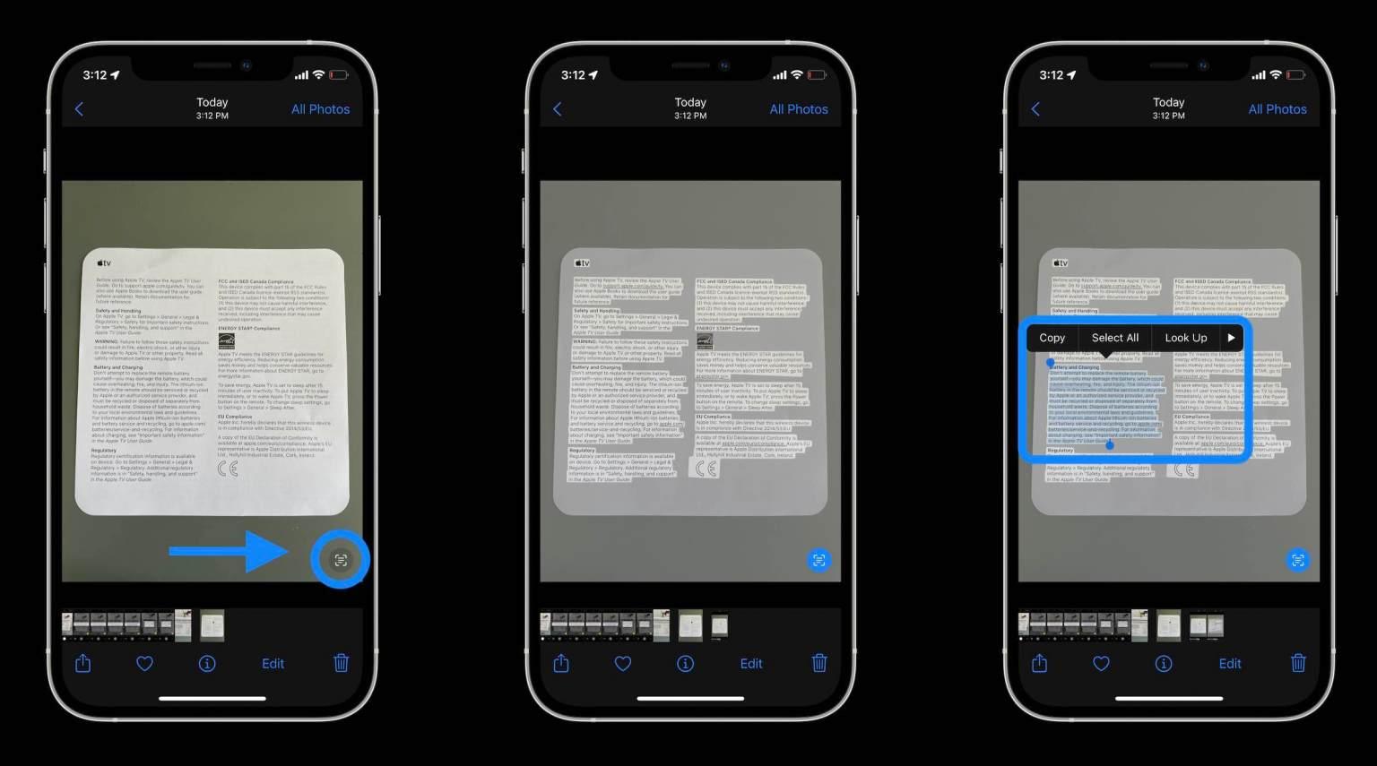 Как работает распознавание текста Live Text в iOS 15