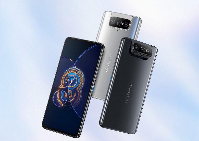 Asus Zenfone 8 Flip с камерой-перевёртышем стал доступен для заказа в РФ
