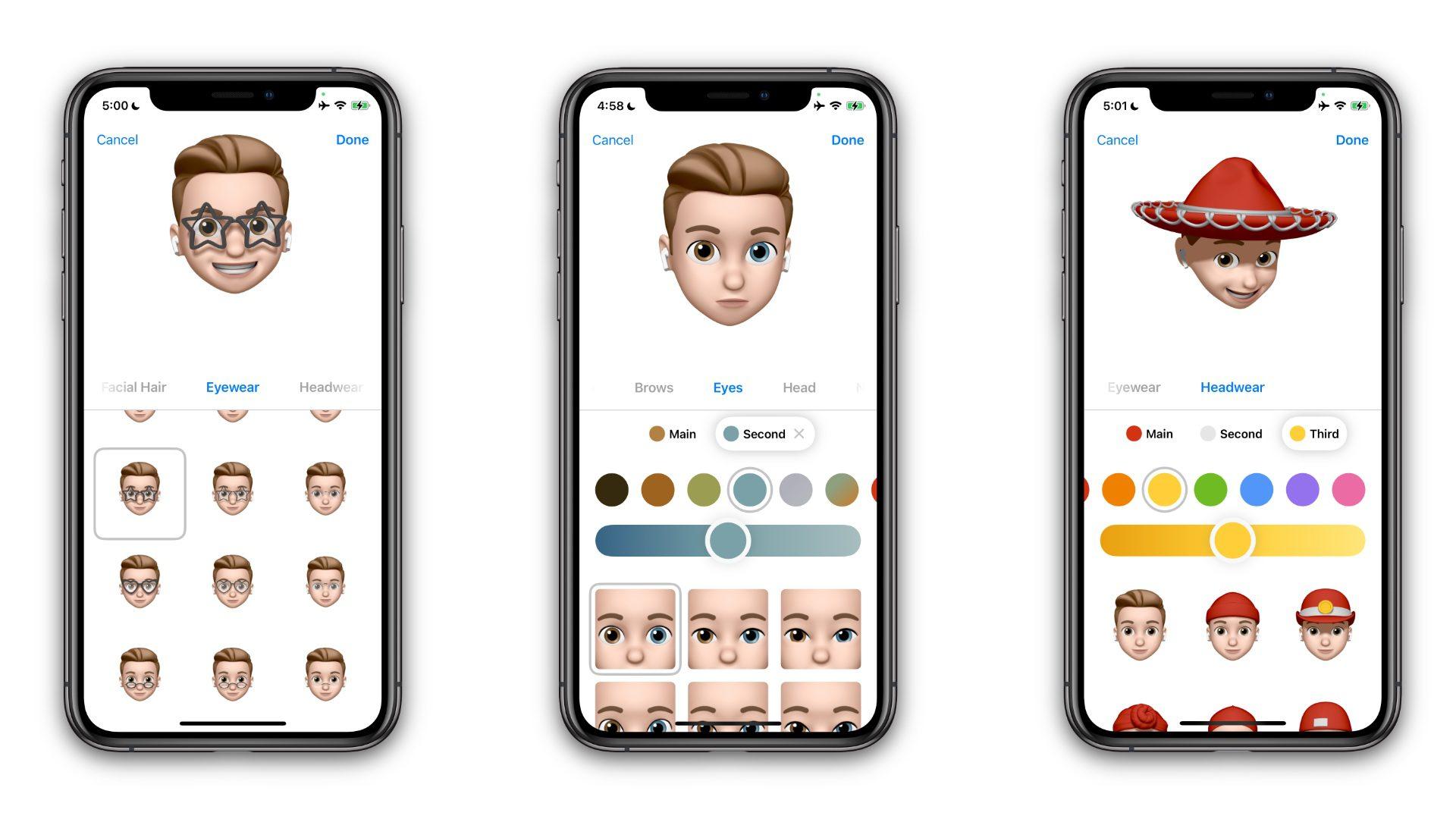 iOS 15 предcтавила новые Memoji с более чем 40 нарядами и другими параметрами