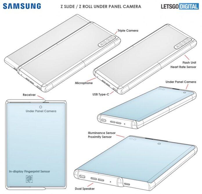 Патент Samsung показывает, как может выглядеть Galaxy Z Roll