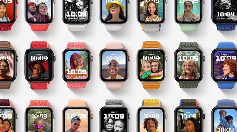 Apple представляет новый циферблат для часов с портретным режимом в watchOS 8