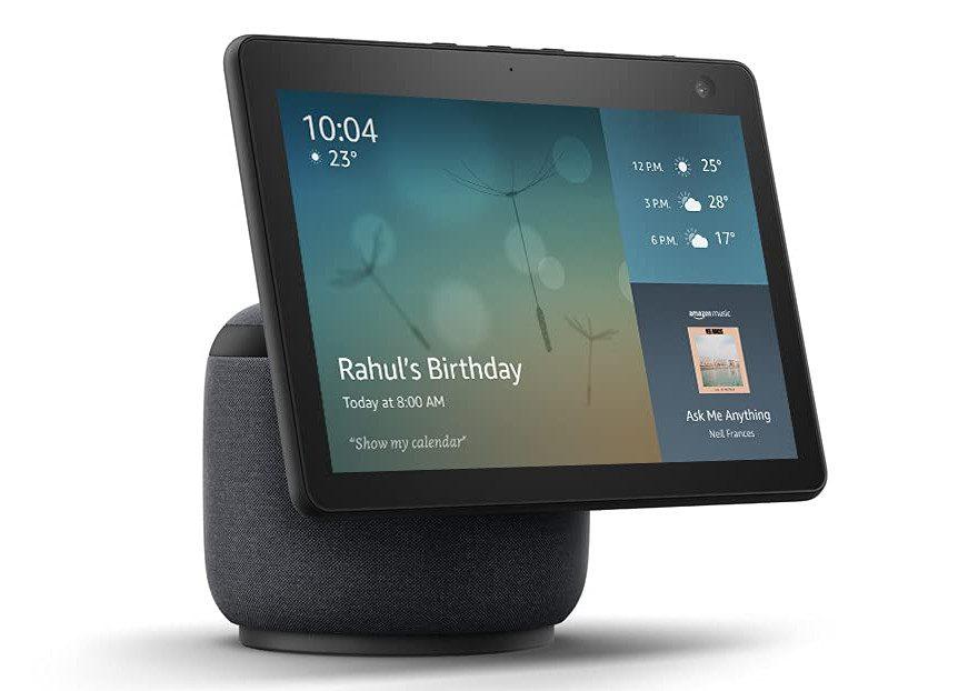 Amazon запускает новую серию умных динамиков Echo Show в Индии