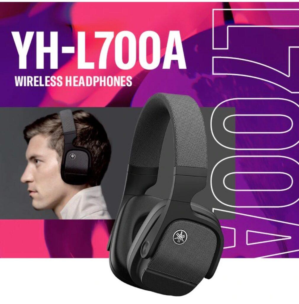 Yamaha представляет беспроводные наушники YH-L700A с ANC и пространственным звуком