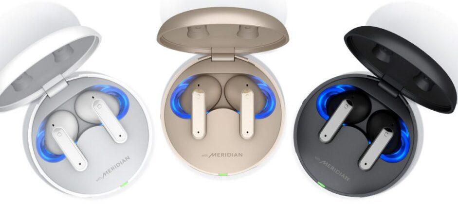 Запущены наушники LG Tone Free FP9, FP8 и FP5 TWS с ANC