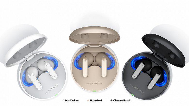 LG представила новые беспроводные наушники LG Tone Free с режимом шёпота