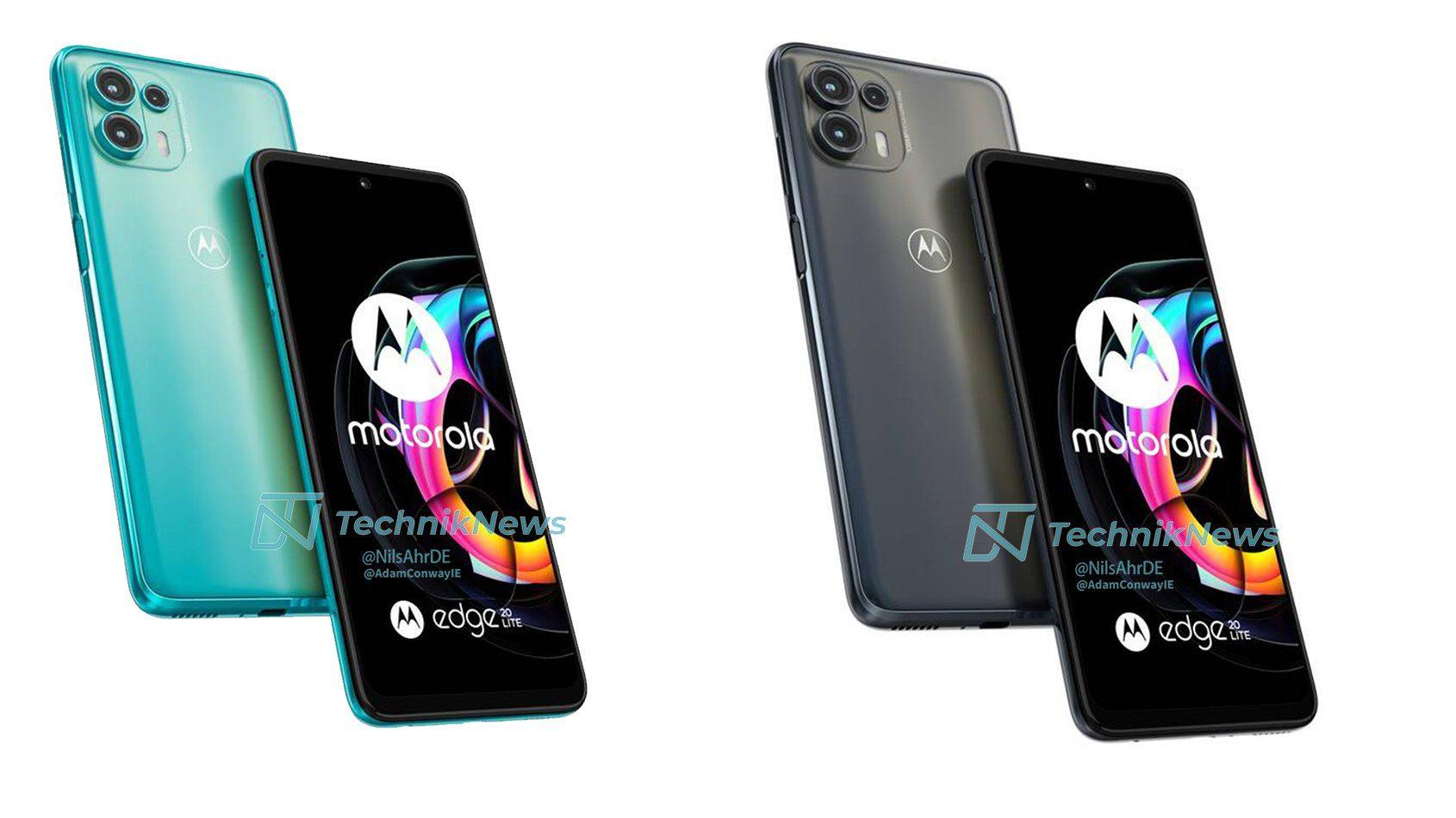 Утечка рендеров, спецификаций и цен Motorola Edge 20, Edge 20 Pro, Edge 20 Lite