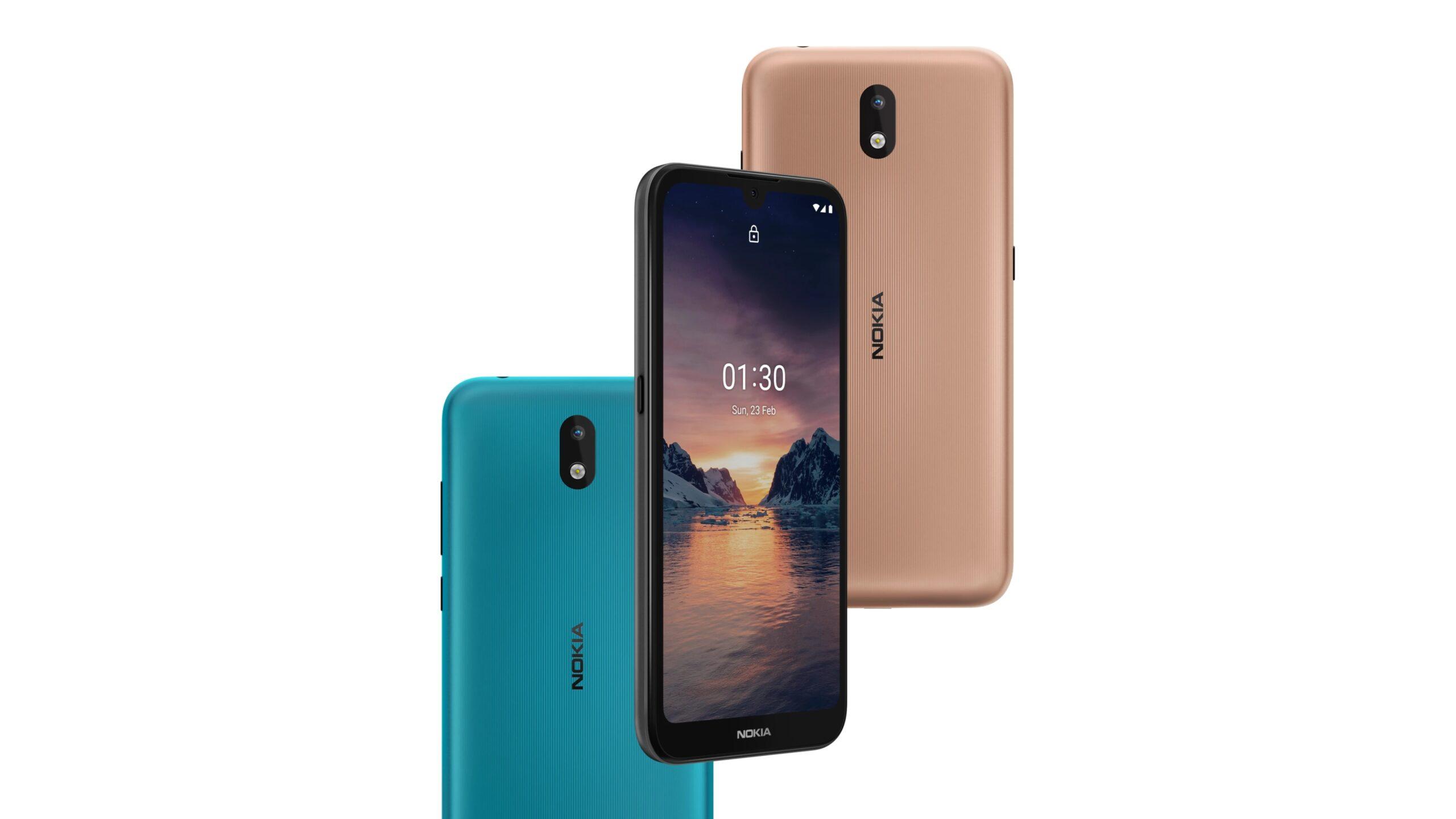 Nokia 1.3 начинает получать обновление Android 11 Go Edition