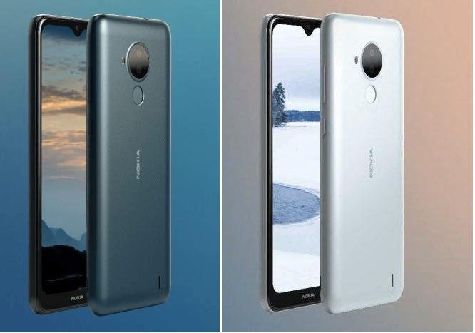 Утечка рендеров и спецификаций Nokia C30