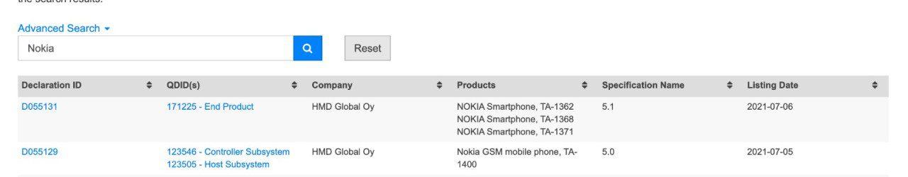 Предстоящие Nokia XR20 и Nokia 6310 получили одобрение Bluetooth SIG