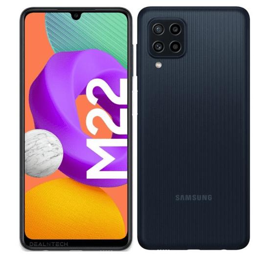 Рендеры и спецификации Samsung Galaxy M22 просочились перед запуском