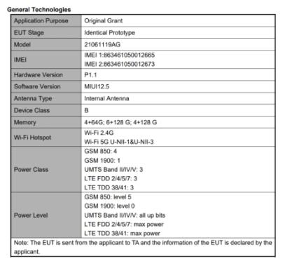 Redmi 10 появляется на FCC под управлением Android 11