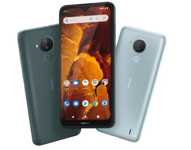Смартфон Nokia C30 под управлением Android 11 Go Edition официально выпущен