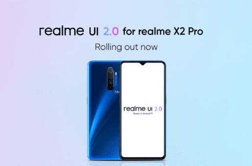 Realme X2 Pro получил стабильное обновление Android 11