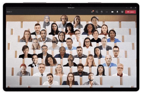 Режим совместной работы Microsoft Teams для получения поддержки для небольших групп