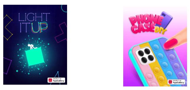 CrazyLabs запускает четыре новые игры в Huawei AppGallery, включая Tie-Dye и Light it Up