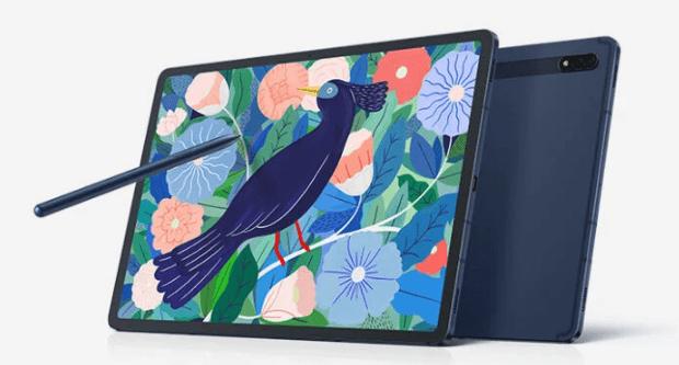 Размеры батареи Galaxy Tab S8 +, Tab S8 + Ultra указаны на упаковке