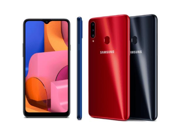 Samsung Galaxy A20s начинает получать обновление Android 11