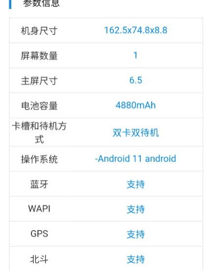 Появилось несколько спецификаций Realme RMX3381 с сертификацией TENAA