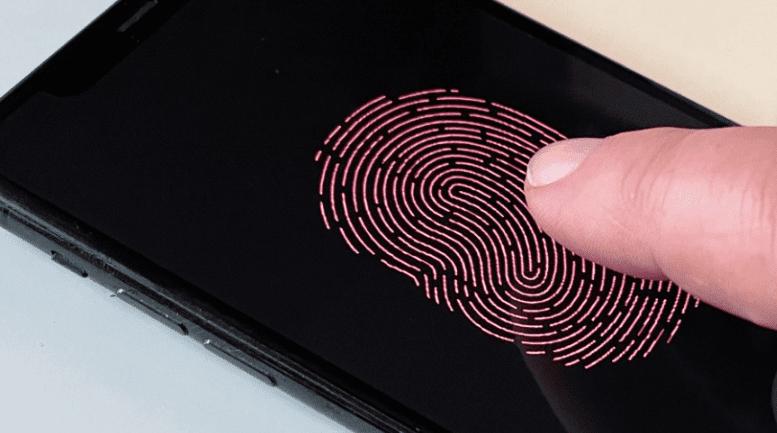 Патенты Apple на технологию камеры дисплея для Touch ID и Face ID