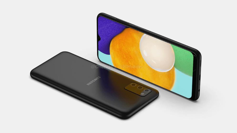 Близится запуск Samsung Galaxy A03s в Индии