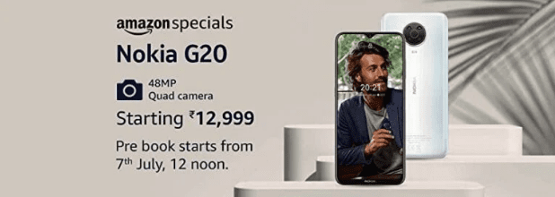 Объявлена цена Nokia G20 в Индии