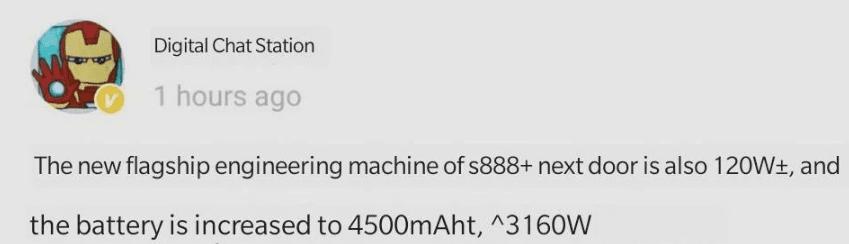 Серия iQOO 8 будет оснащена 10-битной панелью LTPO с разрешением экрана 2K