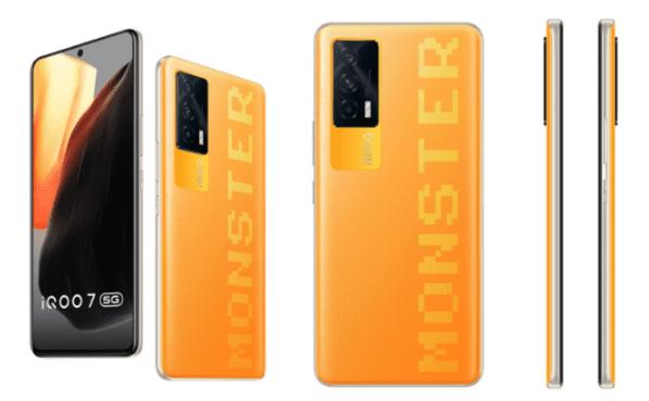 iQOO 7 появится в Индии в новом цвете Monster Orange 26 июля