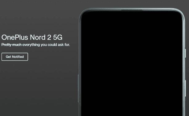 OnePlus Nord 2 5G официально подтвержден к запуску 22 июля