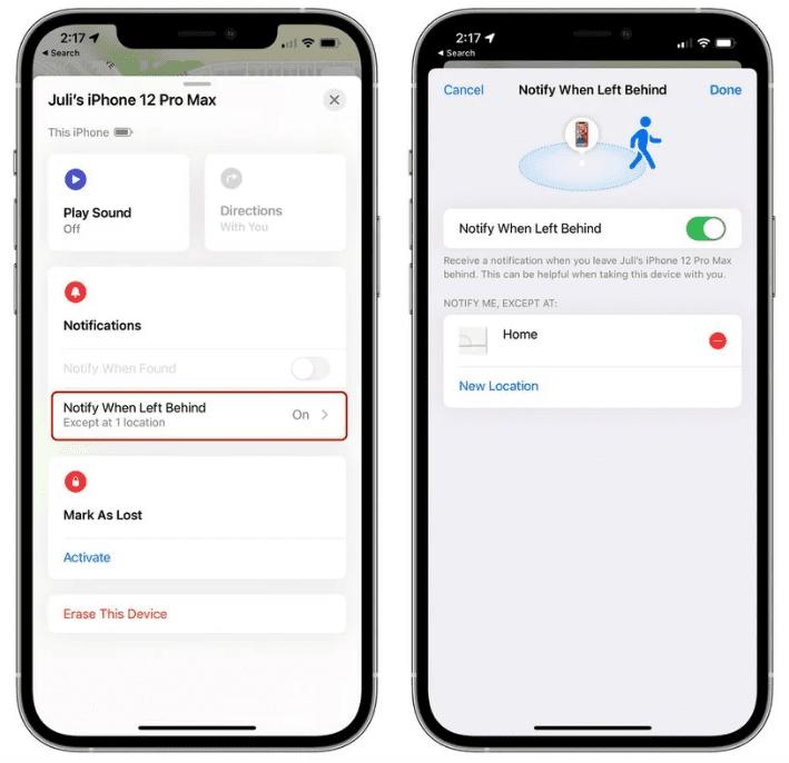 Обзор: что нового в приложении Find My на iOS 15
