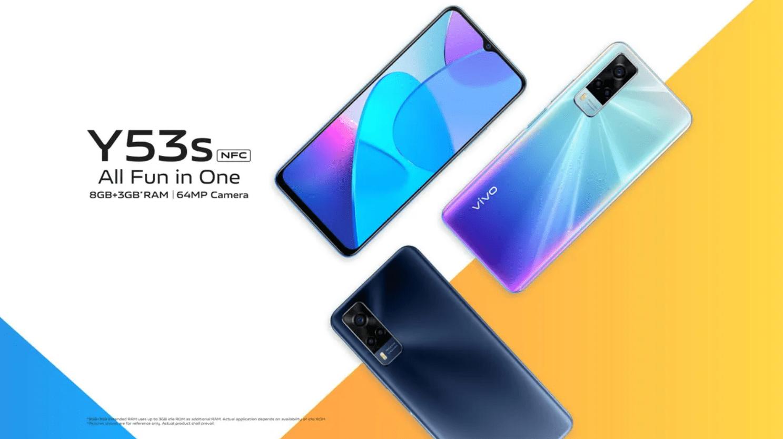 Vivo Y53s NFC запущен в Индонезии