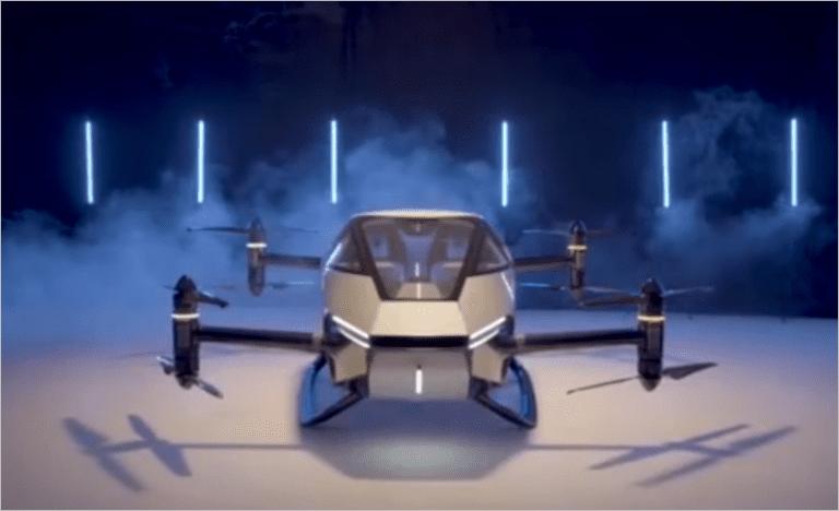 Китайский производитель электромобилей XPeng представляет прототип автономного летающего автомобиля