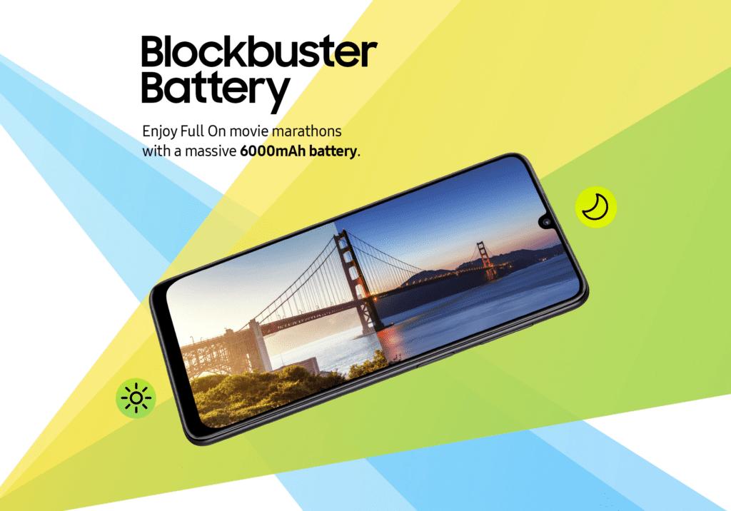 Samsung выпустила недорогой Galaxy F22 с квадрокамерой и АКБ на 6000 мАч