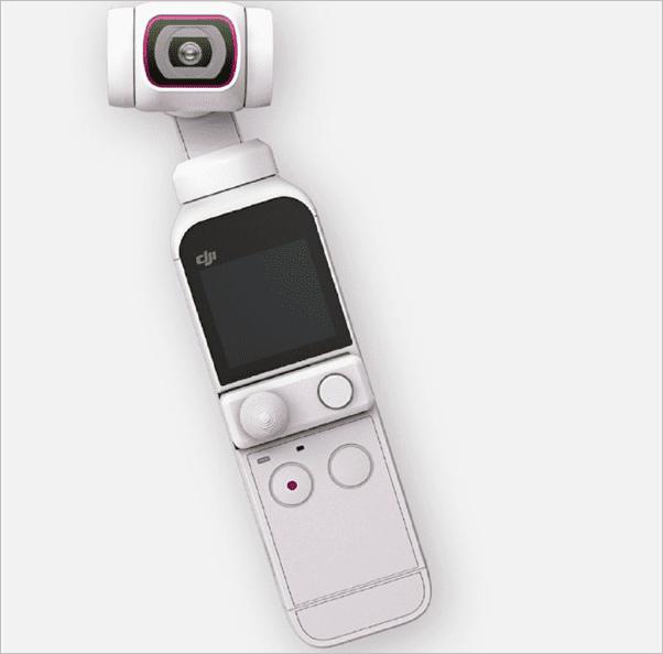 Выпущена эксклюзивная комбо-ограниченная версия DJI Pocket 2 с оттенком Sunset White