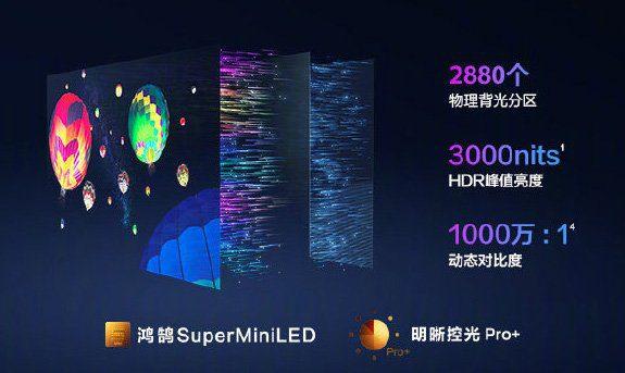 Huawei представила 75-дюймовый телевизор Smart Screen V75 Super с HarmonyOS 2.0
