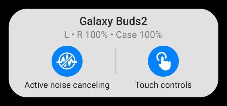 Наушники Samsung Galaxy Buds 2 получили систему активного шумоподавления