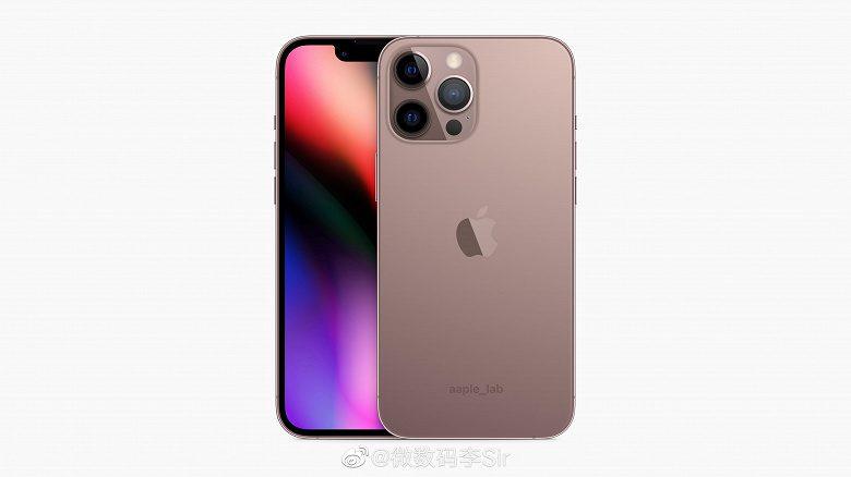 Новые IPhone 13 и iPhone 13 Pro в цвете Rose Gold показали на качественных изображениях