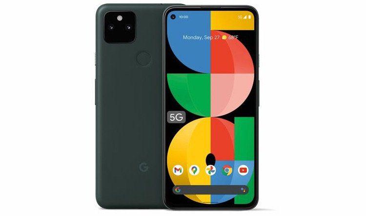 Google представила новый смартфон Pixel 5a с 5G и аккумулятором на 4680 мАч
