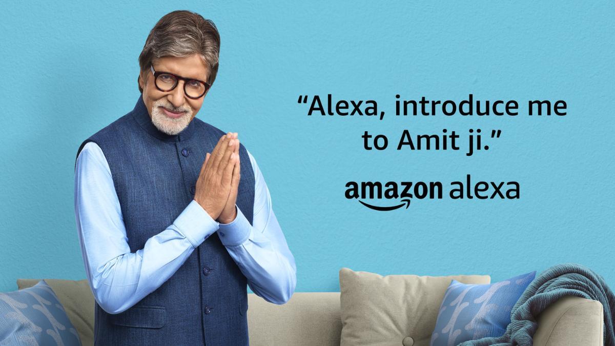 Amazon Alexa теперь предлагает голос Амитабха Баччана в Индии