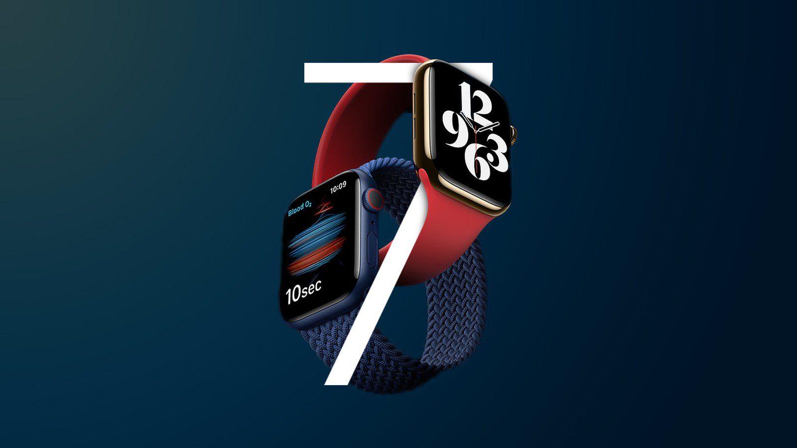 Apple Watch Series 7 могут выйти в размерах больше 41 мм и 45 мм