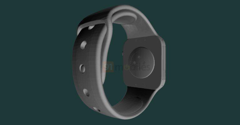 Просочились CAD-рендеры Apple Watch Series 7