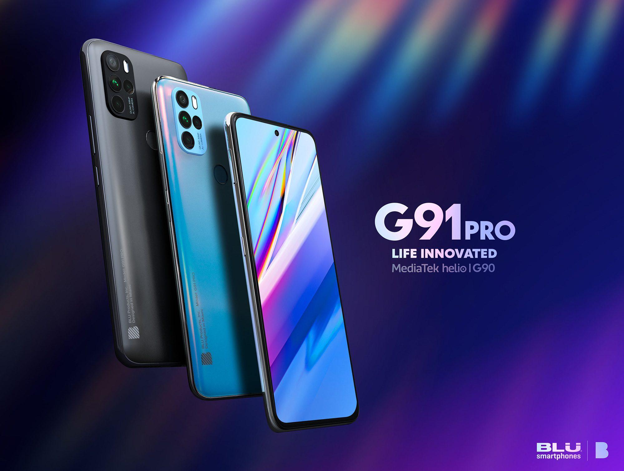 BLU G91 Pro прибывает с новым дизайном