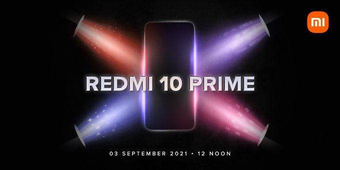 Подтверждена дата запуска Redmi 10 Prime для Индии