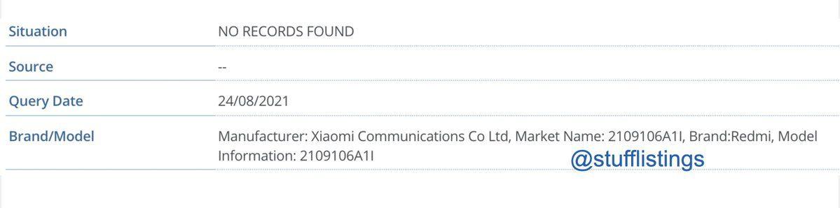 Redmi Note 10 Lite может скоро появиться на индийском рынке