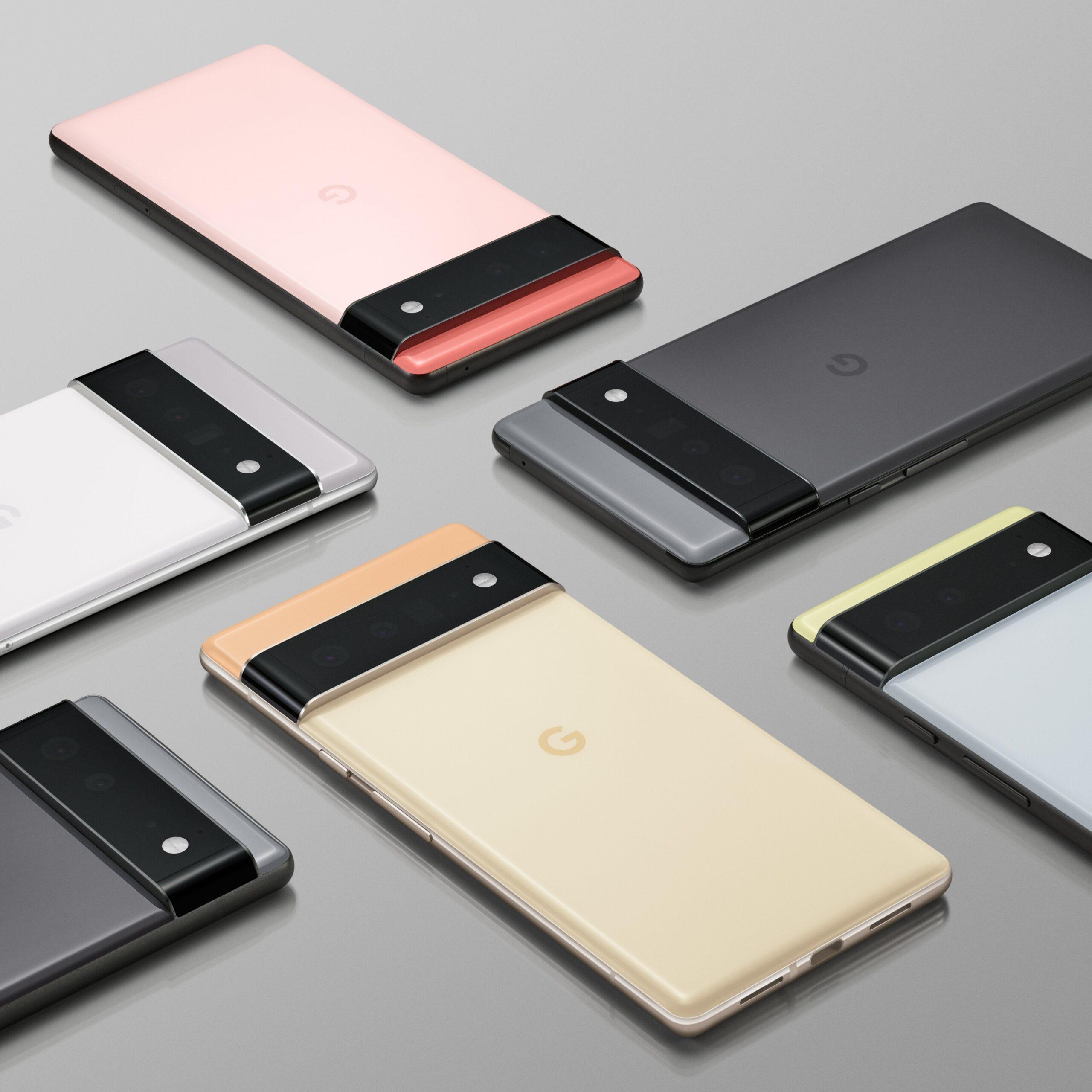 Смартфоны серии Google Pixel 6 будут запущены 13 сентября