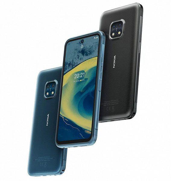 Nokia в России начала продажи защищенного смартфона Nokia XR20