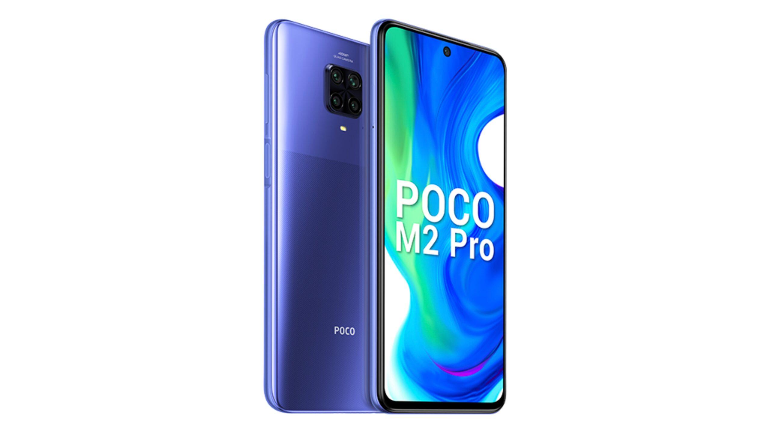 POCO M2 Pro получил обновление Android 11 в Индии