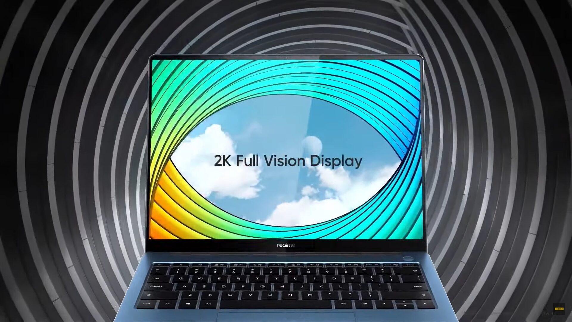 Realme Book Slim запущен в Индии с дисплеем 2K и процессорами Intel 11-го поколения