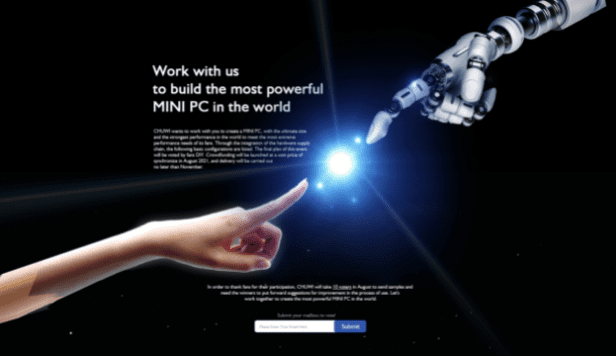 Chuwi приглашает энтузиастов ПК для самостоятельной разработки самого мощного мини-ПК