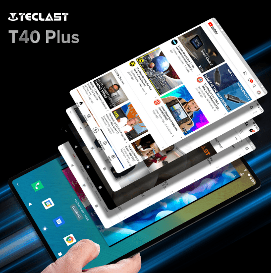 Планшет Teclast T40 Plus поступил в продажу